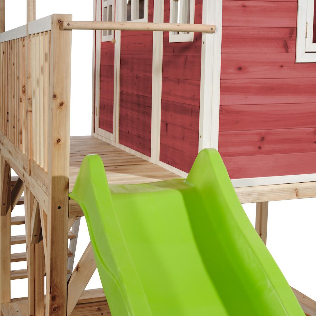 EXIT Loft 750 houten speelhuis - rood
