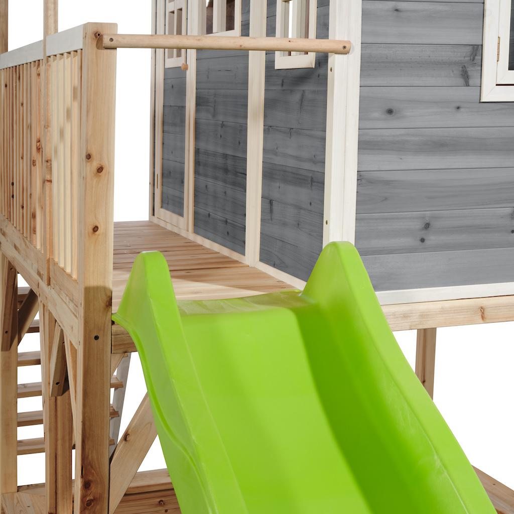 Maisonnette en bois EXIT Loft 750 grise