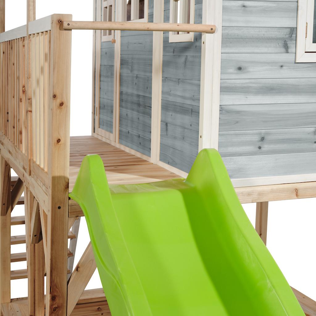 Maisonnette en bois EXIT Loft 750 bleu