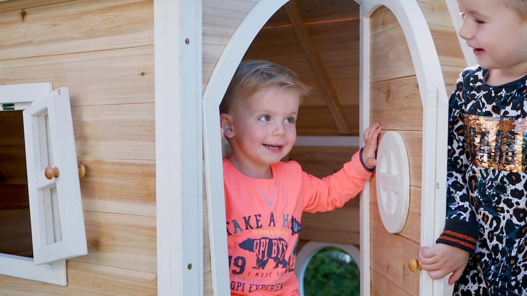 EXIT Fantasia 100 houten speelhuis - naturel