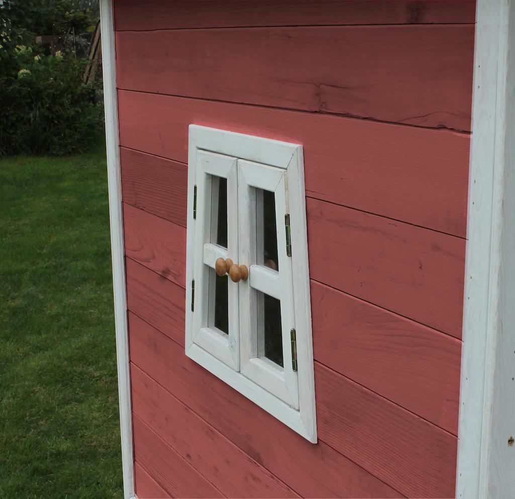 Maison de jeu en bois EXIT Fantasia 100 - rouge