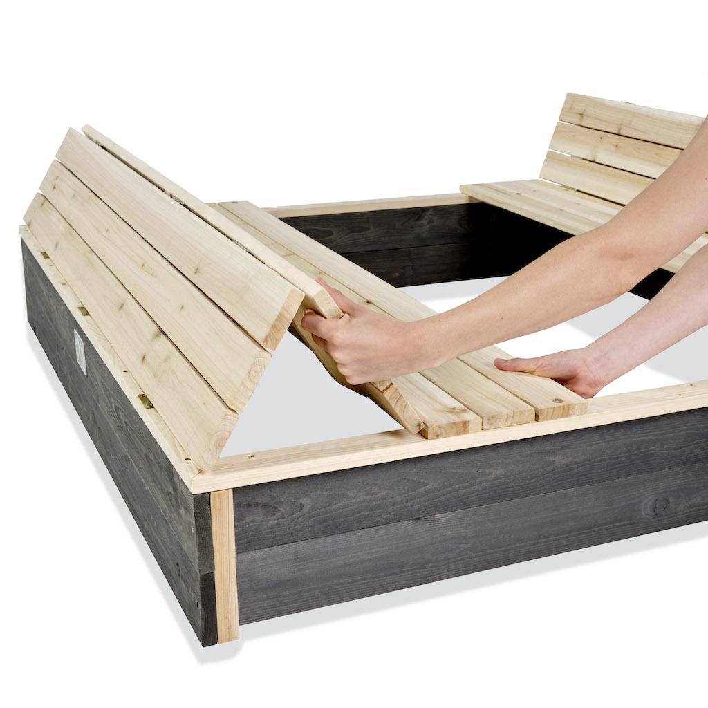 EXIT Aksent houten 136x132cm