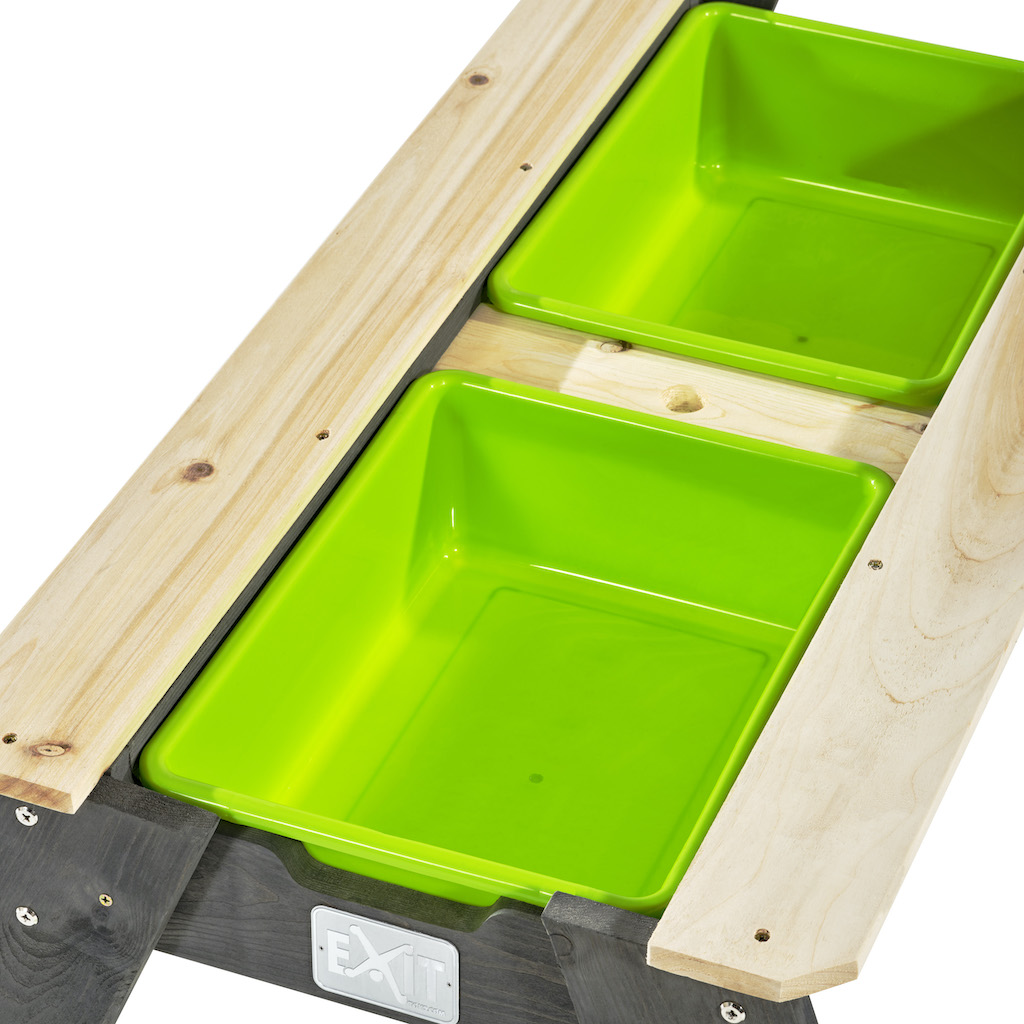 EXIT Aksent Zand-,Water- en Picknicktafel:  L (2 bankjes)