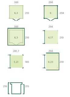 Blokhut met luifel | BS | 600 x 210 cm | E-woodproducts