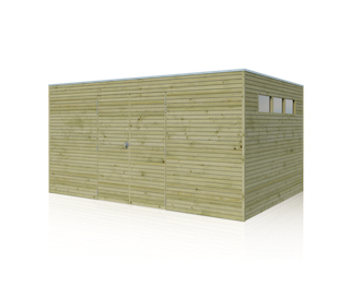 Blokhut | BS | 420 x 300 cm | E-woodproducts