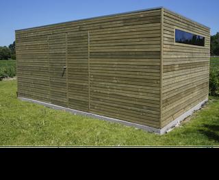 Cabane en bois  | BS | 420 x 300 cm