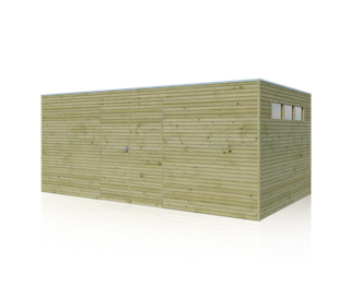 Blokhut | BS | 510 x 300 cm | E-woodproducts