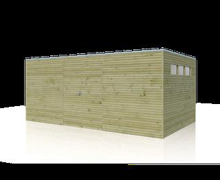 Cabane en bois  | BS | 510 x 300 cm