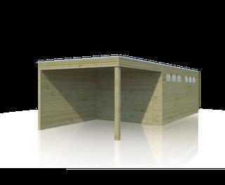 Garage QB | 300 x 510 cm | Extension 300 cm