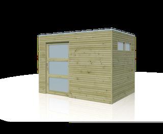 Cabane en bois  | SFQ | 300 x 210 cm