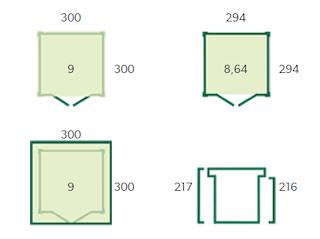 Blokhut | QBS | 300 x 300 cm | E-woodproducts