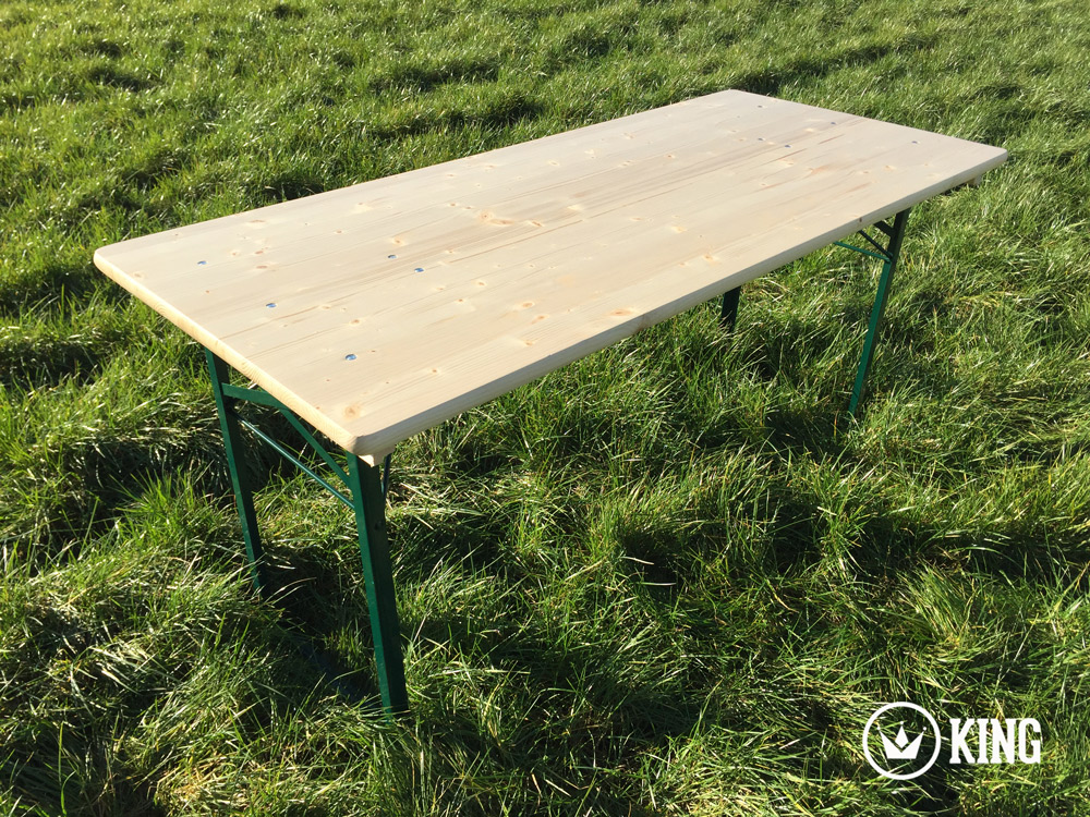 <BIG><B>KING &#174; Table pliante 160cm x 70cm </B></BIG>