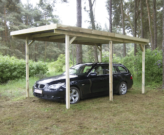 Basic carport simple | 300x600 cm
