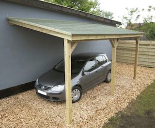 Construction carport | 300x500 cm