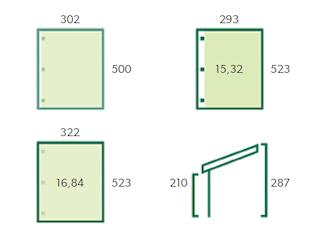 Construction carport | 300x500 cm