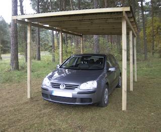 Carport Budget | 300x500 cm