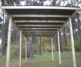 Budget carport | 300x500 cm