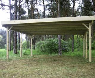 Double carport | 510x500 cm
