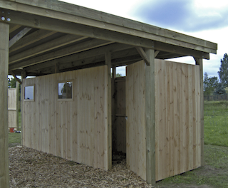 Double carport XL | 600x670 cm