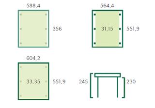 Carport Carpi XL | 600x550 cm