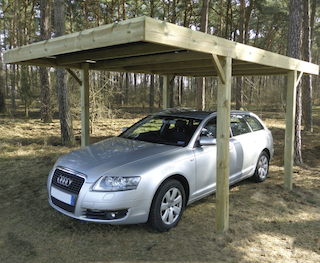 Carport moderne | 300x500 cm