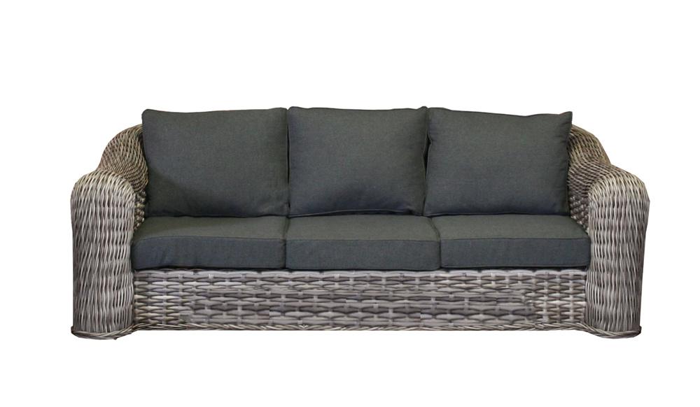 <BIG><B>Mila wicker 3-zits sofa</B></BIG>