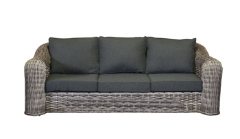 <BIG><B>Mila wicker 3-zits sofa</B></BIG>