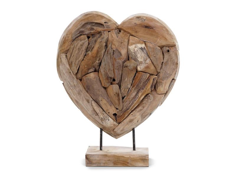 Coeur déco 30 cm