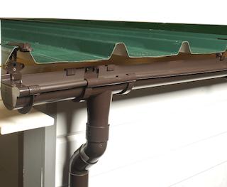 Gouttières toit plat 805 CM MAX pente