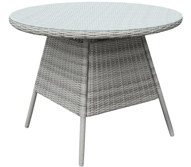 <BIG><B>Table de repas solaire évasée ronde Ø120cm</B></BIG>