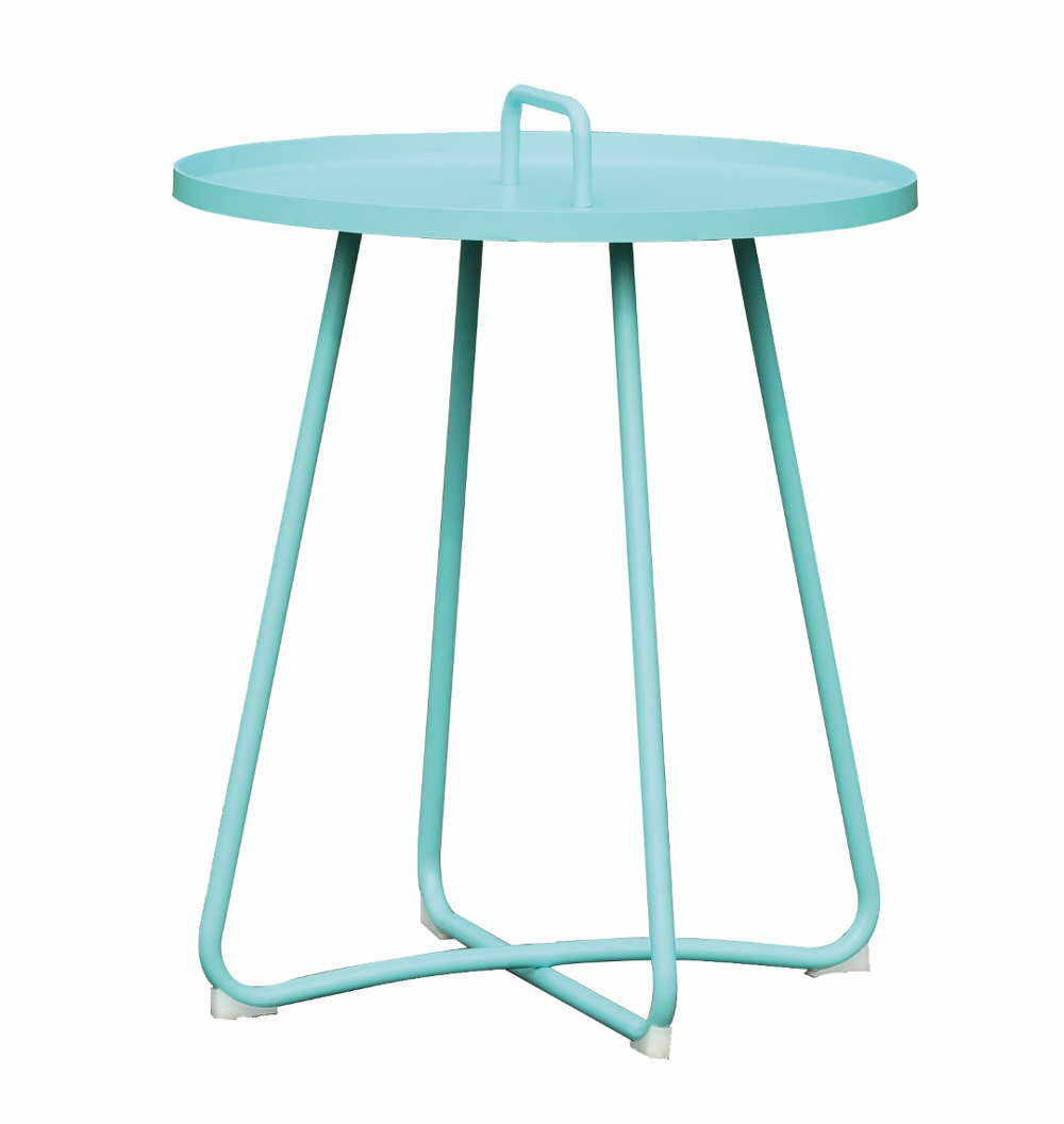 <BIG><B>Table de service Jennifer bleu</B></BIG>