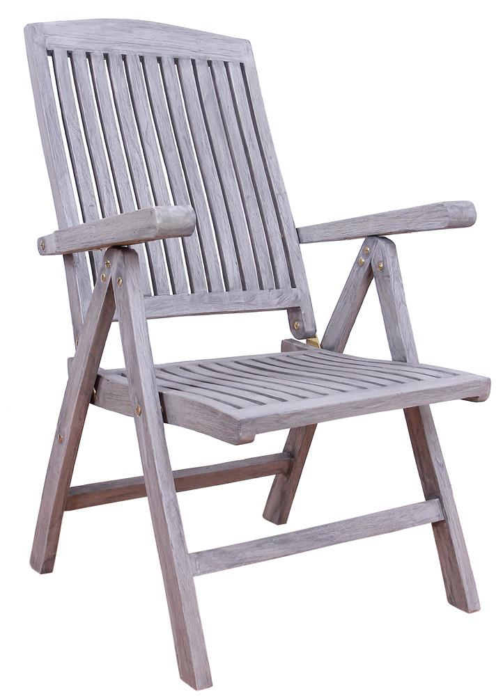 <BIG><B>Chaise pliante en teck Jepara</B></BIG>