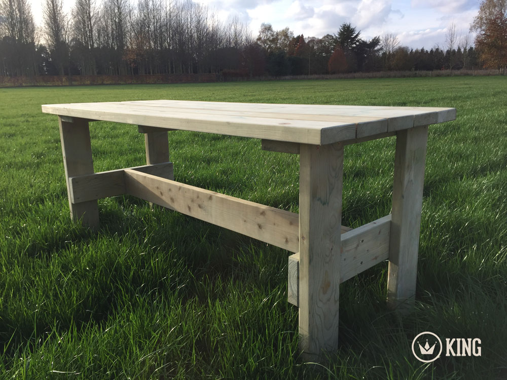 <BIG><B>KING ® Table de jardin Richard (180 cm)</B></BIG>