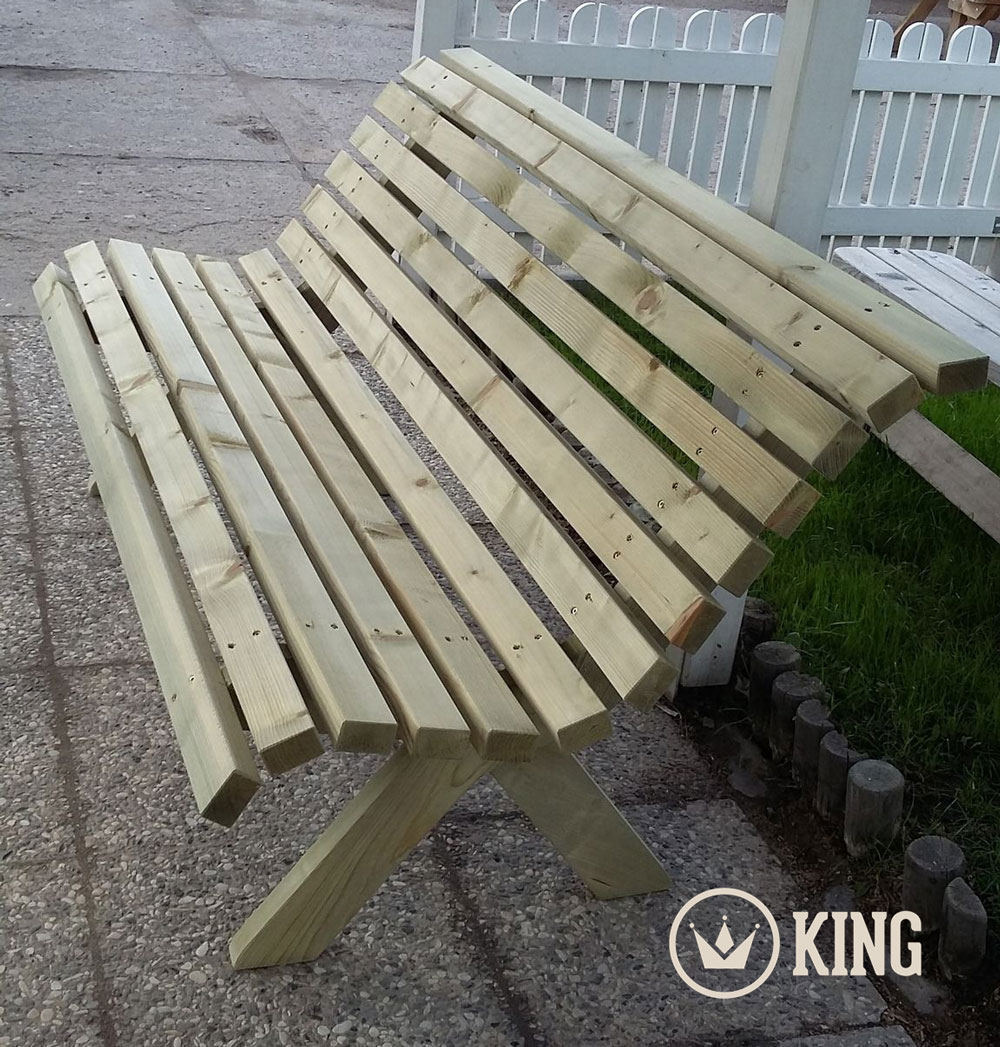 <BIG><B>KING &#174; Design Tuinbank 175 cm</B></BIG>