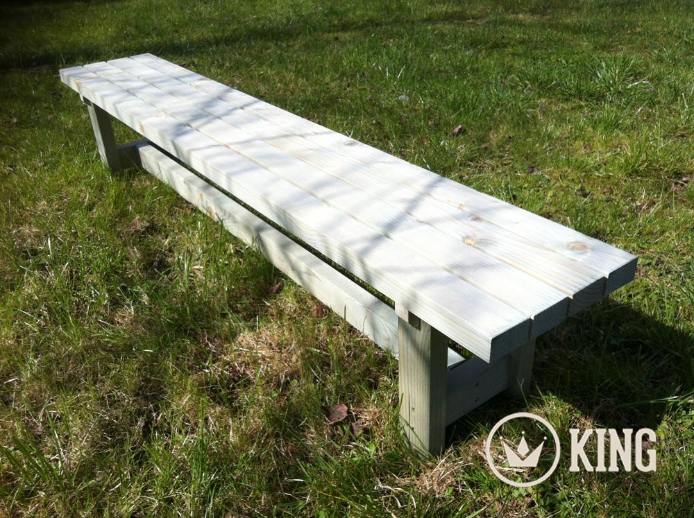 <BIG><B>KING ® Banc de jardin pour marmots 180cm</B></BIG>