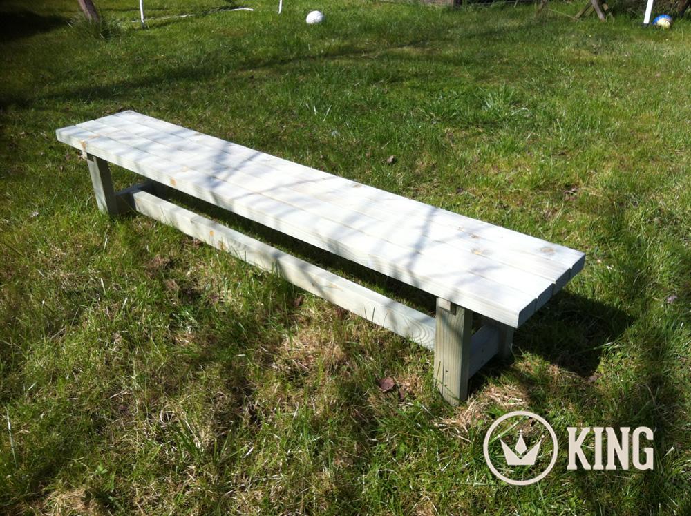 <BIG><B>KING ® KLEUTER / KIND Tuinbank 180 cm</B></BIG>