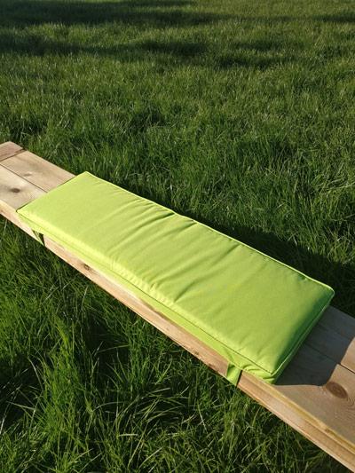 Picknicktisch Kissen apfel grün 96cm