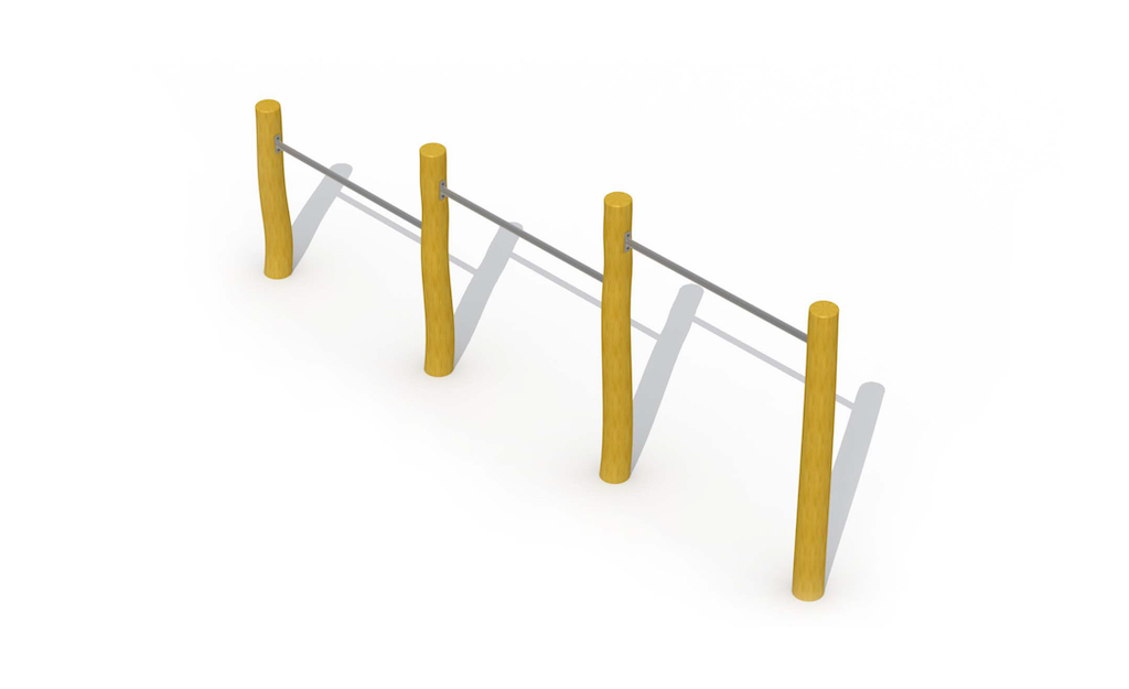 Barre de culbuteur (trois barres horizontales)