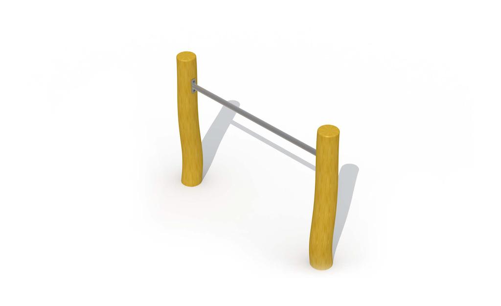Barre de culbuteur (une barre horizontale)