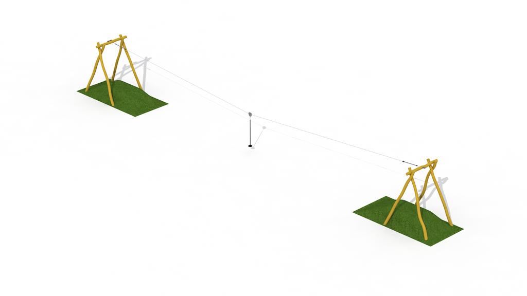 Téléphérique Robinia (2 collines)