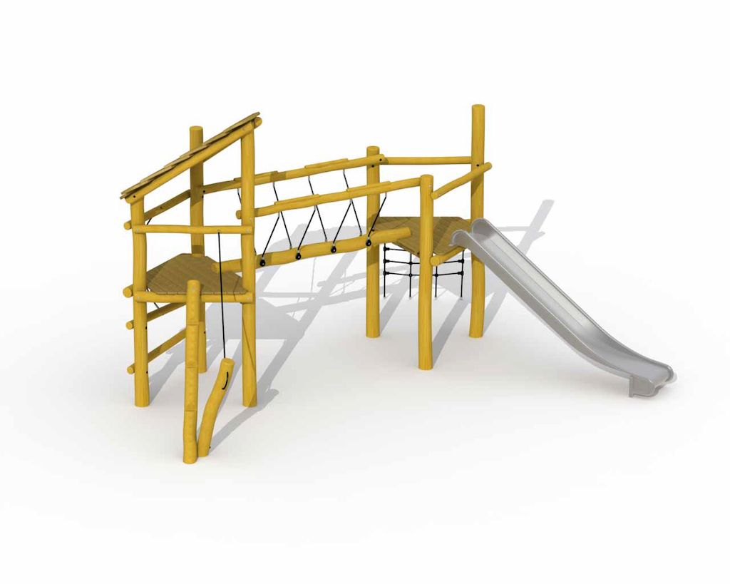 Keverbrugje (inox glijbaan)