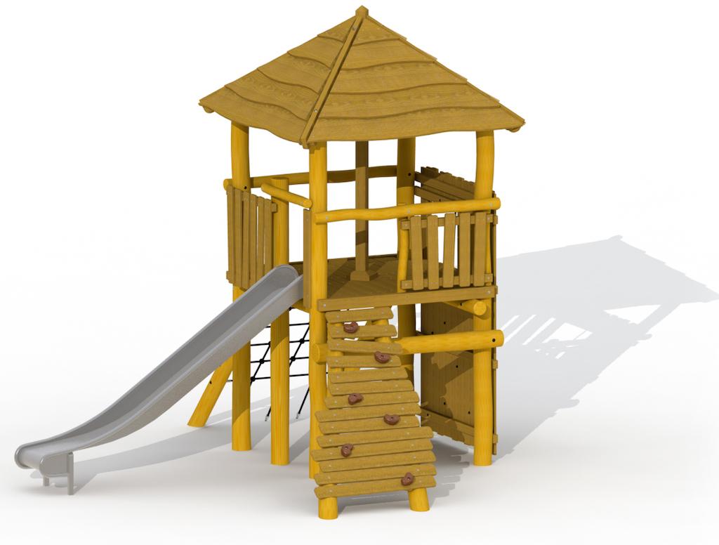 Tour de la tour (sans structure d'escalade)