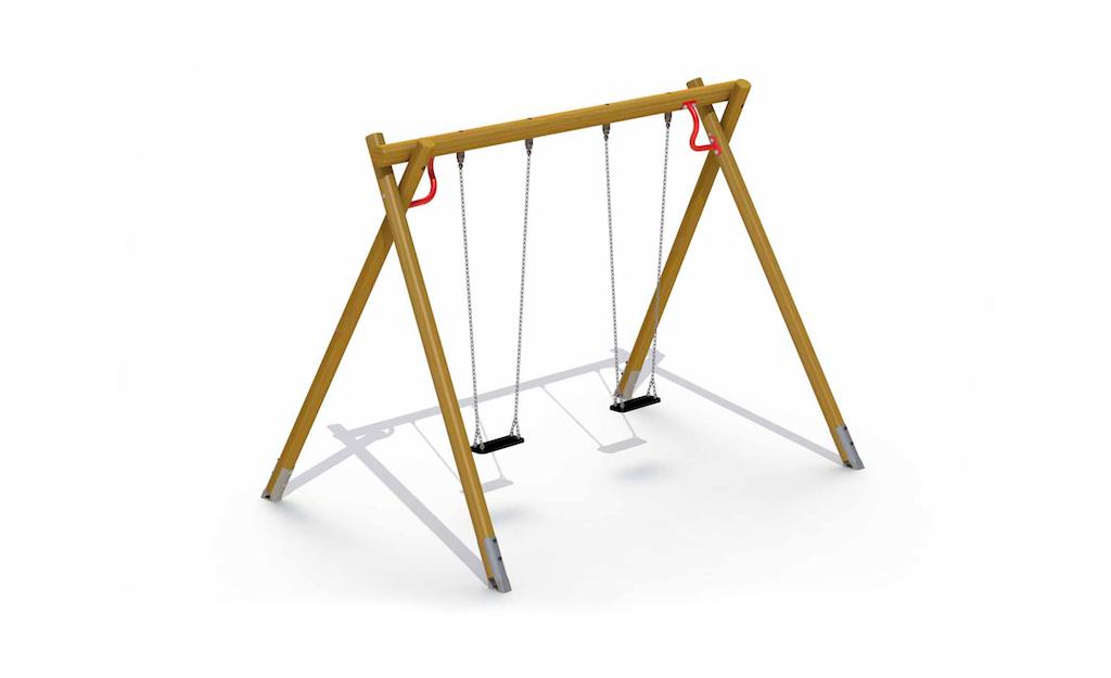 Heavy Swing (2 sièges en caoutchouc)