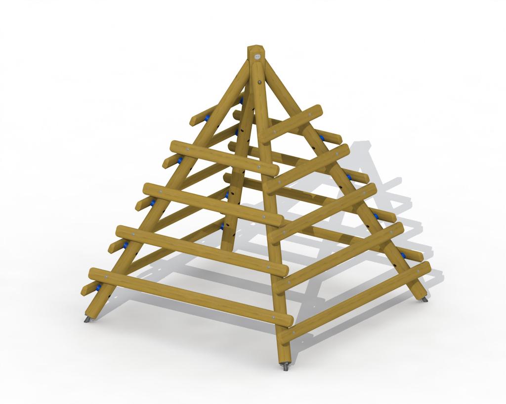 Pyramide d'escalade