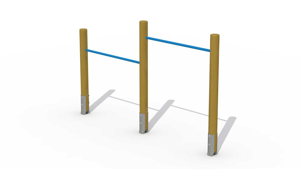 Barre de culbuteur (2 barres horizontales)