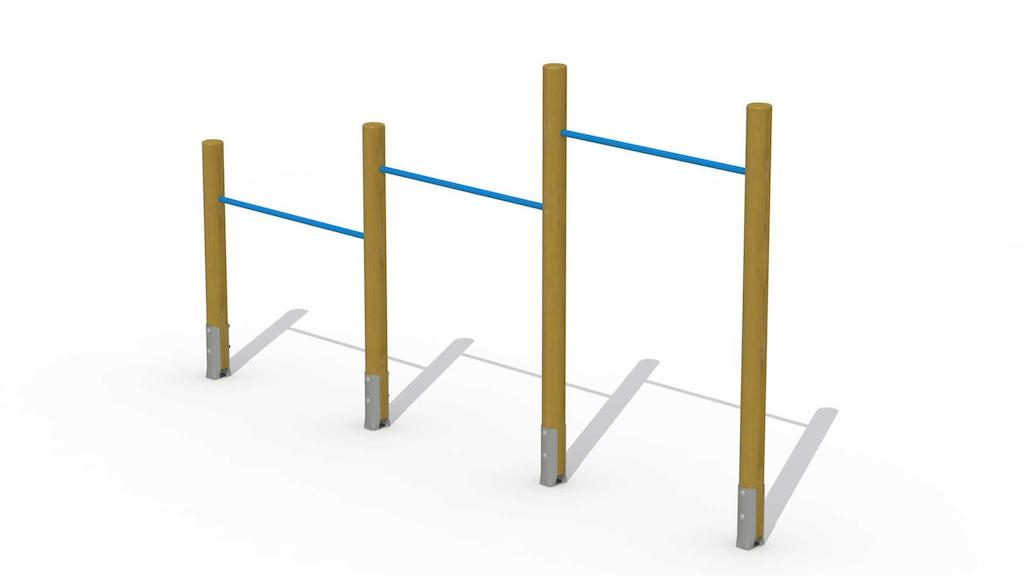 Barre de culbuteur (3 barres horizontales)