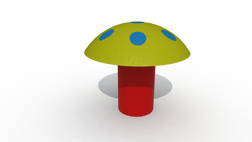 Reuzenpaddenstoel (Laag Model)