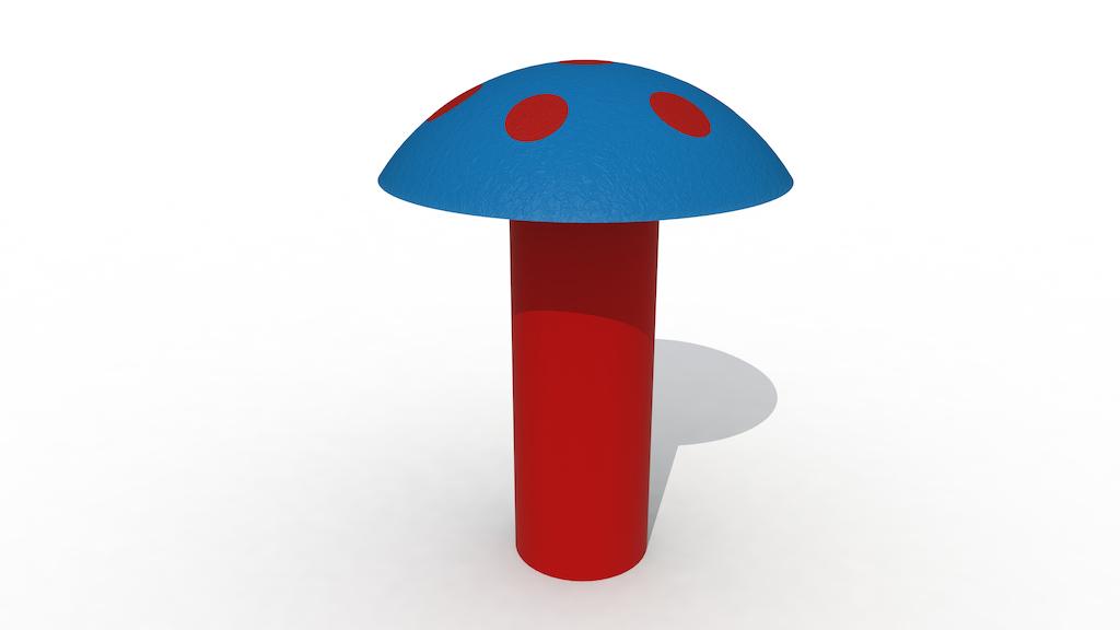 Reuzenpaddenstoel (Hoog Model)
