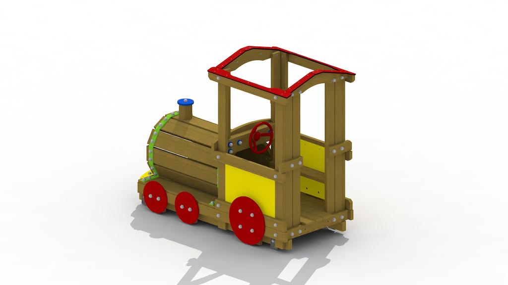 Locomotive (toit ouvert)