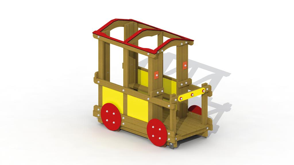 Transport de passagers (toit ouvert)